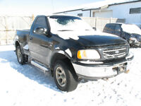 1998 FORD F-150 4X4 FLARESIDE FOR PARTS @PICNSAVE WODOSTOCK