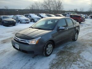 2010 FORD FOCUS SE 4DR, GREY IN COLOR $2995 PLUS THE HST