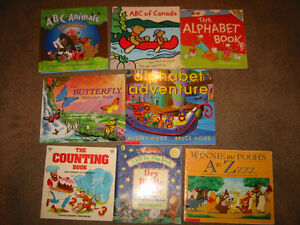 Alphabet and Counting books