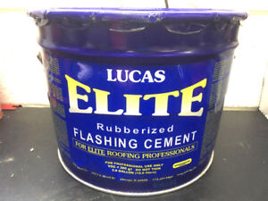 Roof flashing cement, Lucas Elite the best there is, brand new