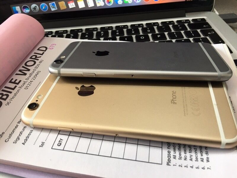 IPhone 6 16GB Gold mint condition, on Vodaphone Lebara Networksin Bradford, West YorkshireGumtree - IPhone 6 16GB Gold mint condition, on Vodaphone Lebara Networks Buy from Mobile World BD9 4rj