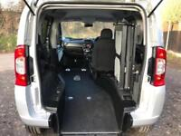 2013 Fiat Qubo 1.4 8V MyLife 5dr RIDE UP WHEELCHAIR ACCESSIBLE VEHICLE 5 door...