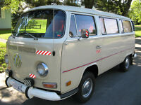 Near new 1972 VW Bus Type II, 27000 orig miles - SOLD!