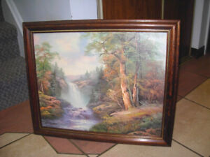 Nice Picture in wood frame