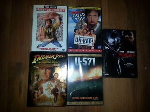 5 Great DVD Movies! Mint no scratches