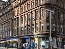 Fully Furnished - ( HOPE STREET - CENTRAL GLASGOW -G2) Office Space to Let in Glasgow