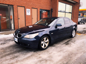 Bmw 530i 2006. 240km  drives amazing