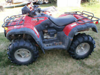 500 Honda Rubicon w/tracks?