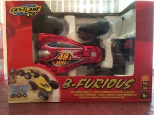 Fast Lane Remote Control (R/C) Stunt Vehicle B-Furious Brand New