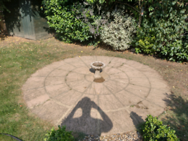 Circle Garden patio