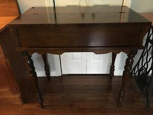 Vintage Spinet Writing Desk
