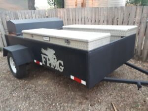 BBQ TRAILER MAKES $5,000 PER DAY. RENTS @ $700 PER DAY