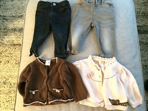 Baby girls 6-12 months clothing lot brand name
