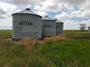 Grain bins for sale.