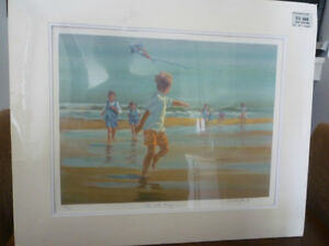 LUCELLE RAAD ' UP AND AWAY '#496/650 HAND SIGNED SERIOLITHOGRAPH