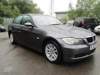 BMW 3 SERIES 320D SE, Grey, Manual, Diesel, 2007 FULL HISTORY 2 KEYS