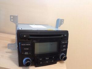 Hyundai Sonata Audio System (CD/DVD Player)  2011 to 2013 models