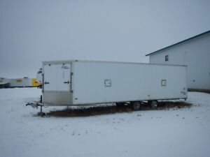 Ameralight 28 ft All Aluminum Snowmobile Trailer