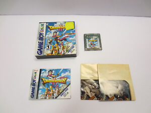Game Boy Color GBC Dragon Warrior III complete and other games