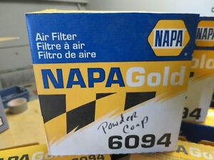 6 NAPA Gold Air Filters