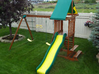 $399 - Wooden PlayStructure. (Value $850). Save $$. Great DEAL !
