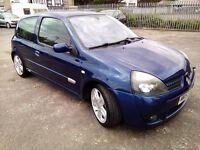 Renault Clio 172 2.0 Petrol 2004 MOT Till November 2016 Full Service History Cambelt Done At 117K