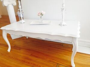 Shabby chic coffee table:)