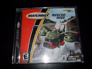 MATCHBOX Rescue Rigs (PC, 2002) BOYS CARS AND TRUCKS EMERGENCY