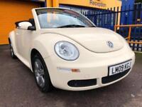 2009 Volkswagen Beetle 1.4 Luna Convertible 39k White