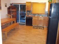 2 Bedroom Partially Furnished Upper Level Home in Cougar Creek