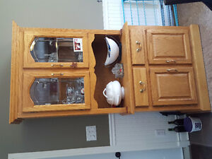 Moving Sale SOLID WOOD CABINETS