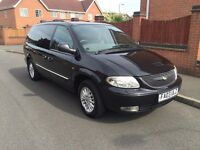 2003 03 Chrysler Grand Voyager 2.5 CRD limited Diesel 7 seater