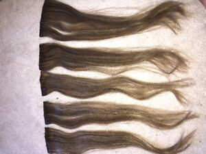 #7 Dirty Blonde 18inch Remi Hair Clip-In Extensions