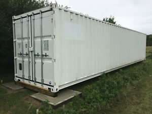 40ft Steel Container w/ Double Doors on Both ends - Like New