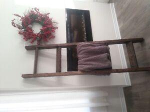 Handmade Blanket Ladder!
