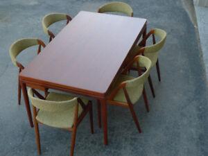 Teak Mid Century Dining Chairs