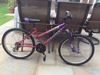 3 used children bikes
