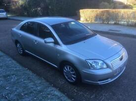 Toyota Avensis 1.8 VVT-i T2 1 PREVIOUS LADY OWNER SINCE 2005