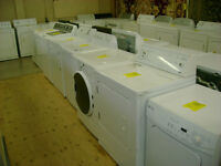 Great selection of washer and dryers all with 90 day warranty.