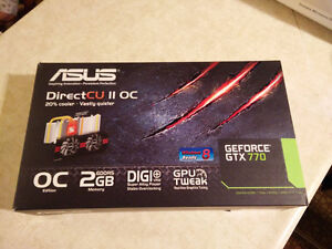 ASUS GeForce GTX 770 DirectCU II OC SLI / Non-negociable, Final West Island Greater Montréal image 4