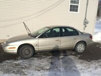 2001 Saturn S-Series Sedan 1.9L Price is Negotiable *Reduced*