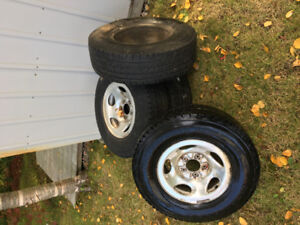 USED Firestone Winterforce LT Winter Tires