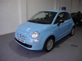 Fiat 500 1.2 Pop ( 69bhp ) ( s/s ) 2014 64, One Owner 36k FFSH, £30 Rd Tax,