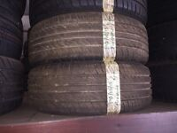 195/60/15 8mm x2 tyres lochgelly