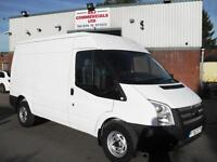 62 REG FORD TRANSIT T350 140PS MWB MEDIUM ROOF VAN, EURO 5, DIRECT FROM LEASE