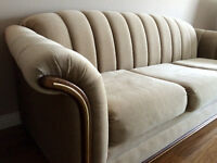 Couch & loveseat set, excellent condition