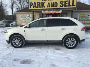 2013 Lincoln MKX, AWD, LEATHER, LOADED, CERTIFIED