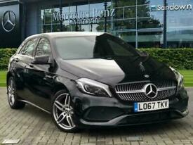 image for 2017 Mercedes-Benz A-CLASS A 200 d AMG Line Saloon Diesel Manual