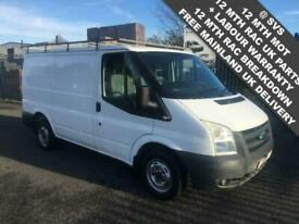 2009 59 FORD TRANSIT 2.2 SWB LOW ROOF 1 COUNCIL OWNER LOW 80K MILES FSH DIESEL