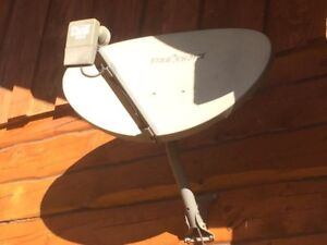 Shaw direct dish, receiver, remote